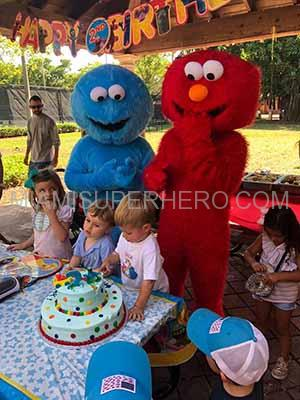 cookie monster for kids party