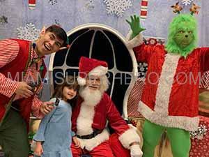 rent santa for christmas