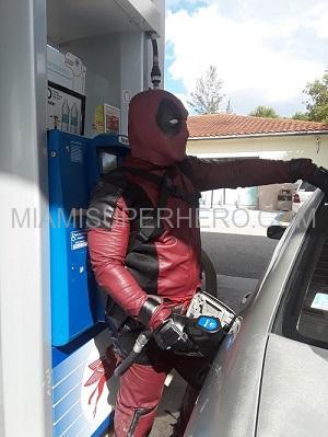 deadpool superhero hire