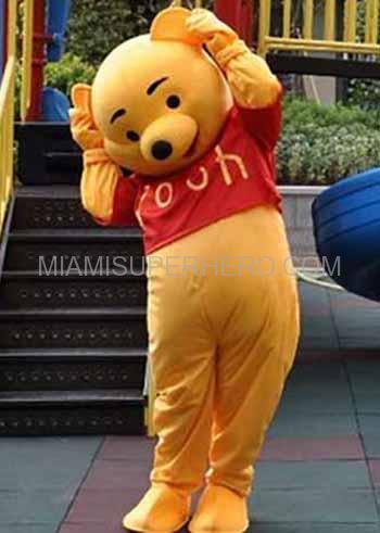 Winnie The Pooh And Tiger Party Miami Superhero