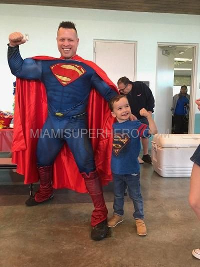 Miami superhero Superman Hire