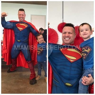 Miamisuperhero Superman Rent for Kids