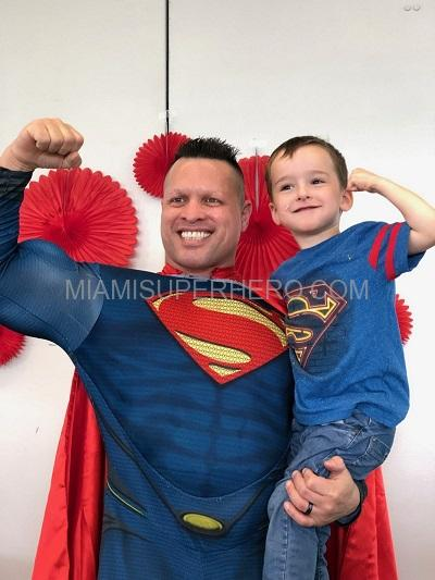 Miamisuperhero Superman for kids