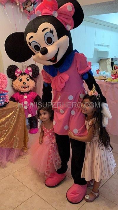 Minnie Mouse Miami Rent
