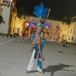 hora loca samba dancers