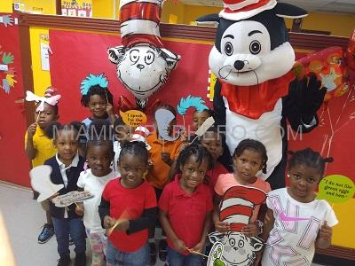 Birthday party hire cat in the hat