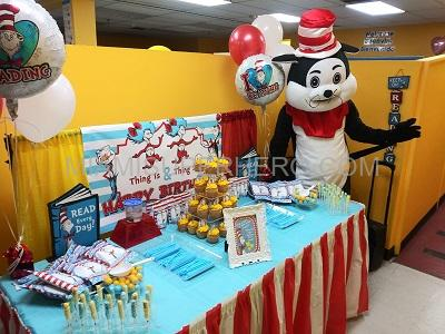 cat in the hat party hire