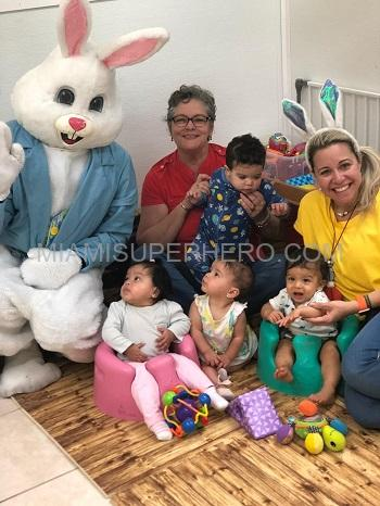 Easter Bunny Character Hire Miami