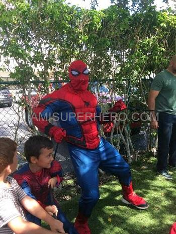 Hire Spiderman Miami kids party character