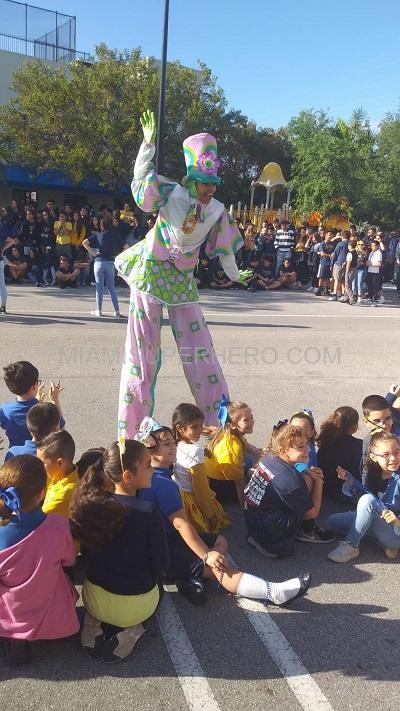 Rent stilt walkers party character