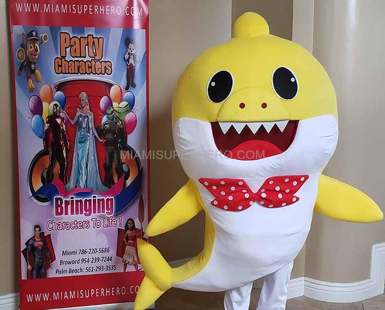 02e8804d Baby Shark Birthday | Baby Shark Characters | Miami Superhero