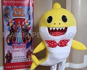 baby shark character rental