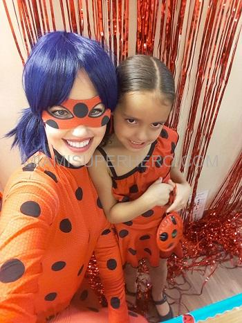 lady bug Hire party character