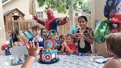 Hire Spiderman miami kids party