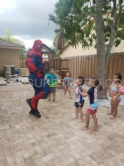 Hire Spiderman superhero