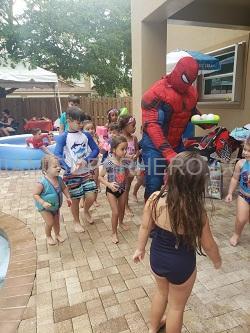 Spiderman kids party miami