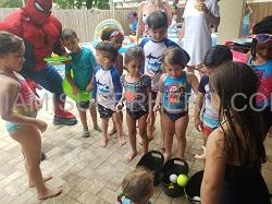 Spiderman kids party play