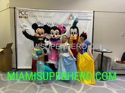 Mickey Mouse hire Miami