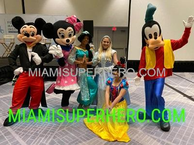 Mickey Mouse party hire in Miami
