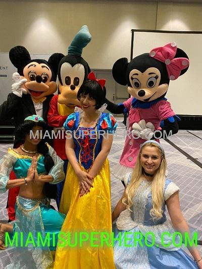 Mickey Mouse party in Miami