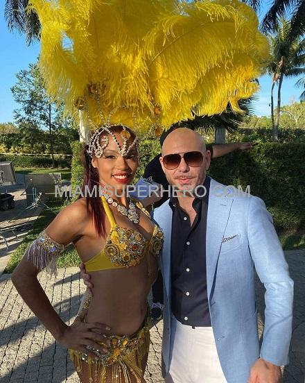 Samba Dancer hire Miami