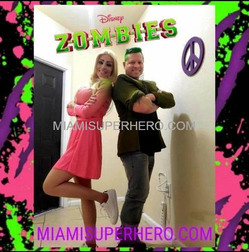 Zombies Zed Addison Character Miami Hire