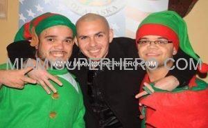 xmas party with midget elves
