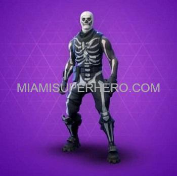 Skeleton Fortnite Character