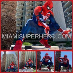 Spider Man Miami Super Hero Character